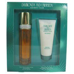 Diamonds & Emeralds By Elizabeth Taylor For Women. Gift Set ( Eau De Toilette Spray 3.3 Oz + Body Lotion 3.3 Oz). - http://www.theperfume.org/diamonds-emeralds-by-elizabeth-taylor-for-women-gift-set-eau-de-toilette-spray-3-3-oz-body-lotion-3-3-oz/