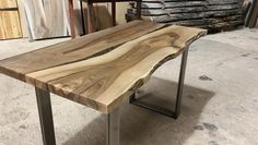 "Live edge walnut desk by Earthy Timber  www.earthytimber.com  ""Ordered  a lovely custom desk from Earthy Timber. It takes a while to get made, but was definitely worth the wait! Beautiful finish and great customer service..."" Dr James Howard, London   #earthytimber #englishwalnut #walnutdesk #rivertable #riverdesk  #wooddesk #bespokedesk #liveedgedesk #customdesk #homeoffice #homeofficedesign #luxuryoffice #homeofficedecor #homeofficedesk #wooddesk #officedesignideas  #desk #desktop"