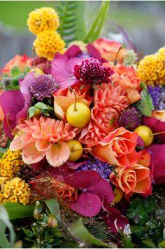 Claire O'Rorke Photography - fabulously colourful flowers by Hanako