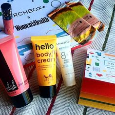 My July #Birchbox | Subscription beauty boxes for only $10 a month | Love my lip stain in the color 'Valentine' from Cynthia Rowley!! https://www.birchbox.com/invite/StephFit