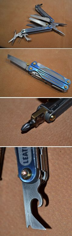 http://vk.com/wall-33310085_69349 Leatherman Charge Damascus Modification. http://www.britishblades.com/forums/showthread.php?126258-Who-says-a-multi-tool-cant-be-sexy-A-study-in-Leatherman-Modification-(pic-heavy