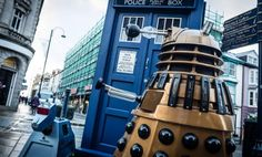 Secret Doctor Who Tardis locations revealed...I found one, going to look for the rest with my husband.