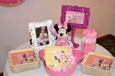 Liana M's Birthday / Minnie Mouse - Photo Gallery at Catch My Party Minnie Mouse First Birthday, Baby First Birthday, 3rd Birthday Parties, Birthday Ideas, Minnie Mouse Decorations, Mouse Photos, First Birthdays, Sarah Ann, Party Ideas