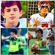Hayes Grier football