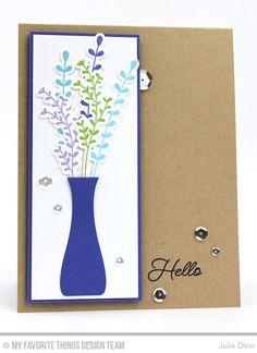 MFT Beautiful Blooms Card Kit - Julie Dinn  #mftstamps