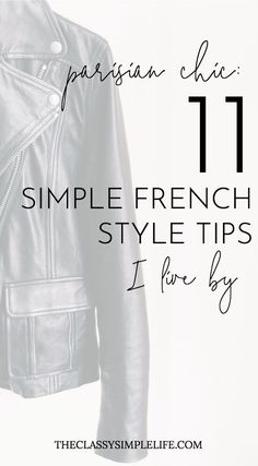 Parisian Chic: 11 Simple French Style Tips I Live By – The Classy Simple Life What is it about French style that's so simple and effortless? Don't miss these 11 French style tips from Parisian style icons Caroline de Maigret and Garance Dore. Style Français, Style Icons, Simple Style, Women's Style Tips, Style Blog, Style Guides, Tokyo Fashion, Parisian Chic Style, New Yorker Mode