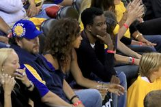 Chris Rock Photos Photos - Actor Chris Rock attends Game 5 of the 2017 NBA Finals between the Golden State Warriors and the Cleveland Cavaliers at ORACLE Arena on June 12, 2017 in Oakland, California. NOTE TO USER: User expressly acknowledges and agrees that, by downloading and or using this photograph, User is consenting to the terms and conditions of the Getty Images License Agreement. - 2017 NBA Finals - Game Five