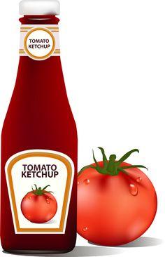 tomato ketchup creative design vector 03 free