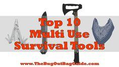 Multi Purpose Survival Tools