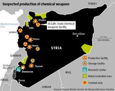 The Menace of Syrian Chemical Weapons