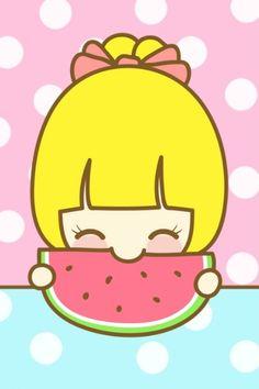 watermelon cuteness ^0^