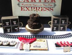 """""""Vintage Train"""" themed party by Ashleigh Nicole Events"""