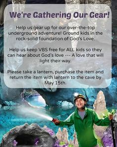 Donation cave area Cave Quest Vbs, Holiday Club, Vbs 2016, The Rock, Gods Love, Arctic, Prayer, Religion, Ideas