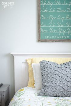 Kids' bedroom wall a