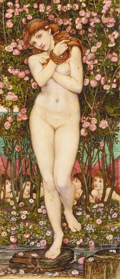Nymph - John Roddam Spencer Stanhope