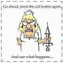Press the call button again....LOL thought instantly of Jennifer and Naomi! LOL