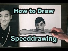 How to Draw SPEEDDRAWING 'Audrey' by Martijn Versteeg