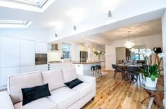 4 bedroom semi-detached house for sale in Norbiton - Rightmove. Furniture, Open Plan, Property, Open Plan Living, House, Property For Sale, Buying Property, Home Decor, Living Spaces