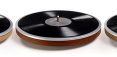 It's just the record - It's Wheel Wheel is an minimal record player. It's only a wheel. Simple, pure and easy to use. Just place a record on Wheel and it will p