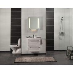 Märkätilalevy Fibo Fortissimo Denver White F03 - Bauhaus