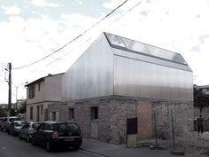 BAST Architecture — M03 Réhabilitation et Surélévation d'une maison, Toulouse, France.