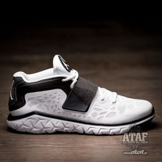 966867d9adc Jordan Flight Flex Trainer 2 White Black 768911-110 (1) Black Runners,