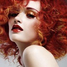 Hair Rainbow, Ginger Hair, Looks Cool, Hair Art, Makeup Inspiration, Hairdresser, Red Hair, Redheads, Your Hair