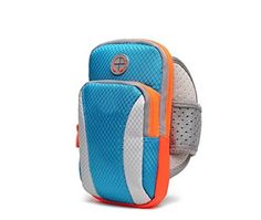 Workout Running Sports Gym Zipper Armband Case Pouch for LG G6 / LG Stylus 3 / Samsung Galaxy S8 Edge / Plus / Motorola Moto G5 Plus / HTC Bolt / BlackBerry DKET60 / Google Pixel XL (Blue). Exclusive Water-resitant material Design; Will not stick when sweating. Zipper pocket design with key slot and earphone cord excess holder. Made of neoprene material, keeps your phone safe when you are exercising. Provide excellent protection during sport, such as running, biking, jogging, walking...