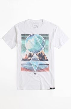 Click Image Above To Purchase: Mens Rip Curl Tee - Rip Curl Kaleido T-shirt Lifestyle Clothing, Rip Curl, Tee Design, Pacsun, Textile Design, Geometric Shapes, My Style, Mens Tops, How To Wear