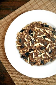 A healthy cookie-breakfast offering over seven grams of fiber and almost 21 grams of protein.