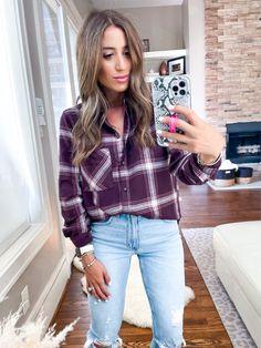 Boyfriend Flannel Shirt curated on LTK