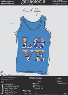 Theta LOVE tank - Kappa Alpha Theta