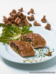 Strudel, Steak, Beef, Food, Chef Recipes, Meals, Mushrooms, Easy Meals, Meat
