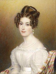 Princess Feodora of Leiningen, Queen Victoria's half-sister.