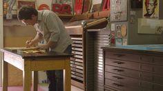 F2 Design: Letterpress Printing and Poster Design on Vimeo