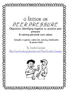 peer pressure essay ideas on responsibility