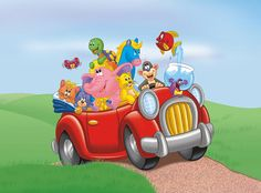 the directory of children's illustration Car Illustration, Travel Light, Ready To Go, Book Making, Animal Pictures, Transportation, Automobile, Road Trip, Vacation