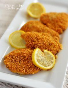 Crispy Baked Lemon Chicken - Life In The Lofthouse