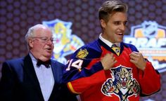 How about this, Florida Panthers fans? Aaron Ekblad is ready to prove himself…