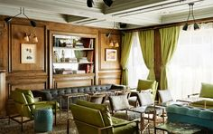 The Marlton in Greenwich Village: 5W 8th Street (Between 5th & 6th Aves.) Evidently in a former flop house. Now Parisian inspired decor. New York, NY 10011 The Most Stylish (and Affordable!) New Hotels in Manhattan via @domainehome