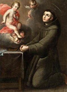 St.Anthony of Padua O Holy St. Anthony, gentlest of Saints, your love for God and Charity for His creatures, made you worthy, when on earth, to possess miraculous powers. Encouraged by this thought, I implore you to obtain for me [your request here]. 0 gentle and loving St. Anthony, whose heart was ever full of human sympathy, whisper my petition into the ears of the sweet Infant Jesus, who loved to be folded in your arms; and the gratitude of my heart will ever be yours. Amen.
