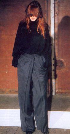 thedoppelganger:  Maison Martin Margiela Fall 2000 Ready to Wear