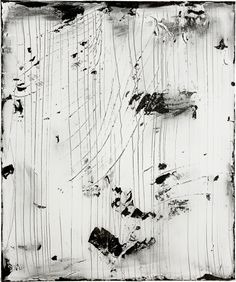 Hideaki Yamanobe Rainy No. 1 - White Landscape, 2011 Mischtechnik auf Leinwand, 120 x 100 cm