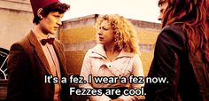 Yes doctor fezzes are the coolest of cool hats