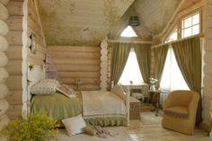 интерьер детской в деревянном доме - Поиск в Google