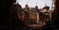 ArtStation - Goblin Den: Castle Entrance (UE4), Steven Hong