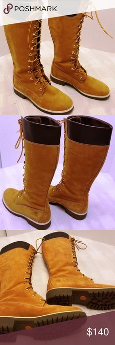 Timberland knee high boots, used some small scuffs but still