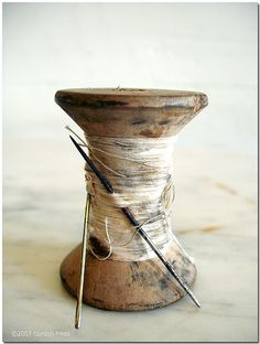 If Grandma only knew what happened to her lost spool of thread!