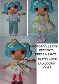 (9) Name: 'Sewing : Dress & Pants for Lalaloopsy Dolls