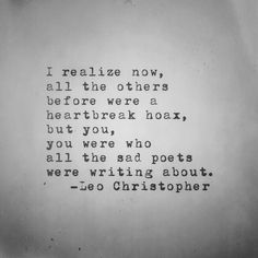 Leo Christopher • A Sad Poet • My book, Sleeping In Chairs, will be released on August 28th through Underwater Mountains Publishing